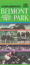 RARE VINTAGE HORSE  RACING PROGRAM  JULY 4 1986