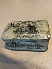ANTIQUE MARYLAND CLUB MIXTURE TOBACCO TIN, Empty