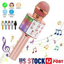 Microphone Speaker KTV Player Mic Party Wireless Bluetooth Handheld Karaoke US