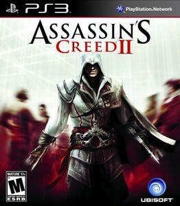 Assassin's Creed II 2 Sony PlayStation 3 PS3 Game NEW Sealed