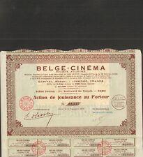 BELGE-CINEMA (A)