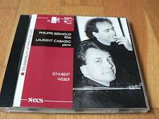 Philippe Bernold / Laurent Cabasso - Schubert & Weber - CD HM 1995