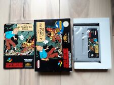 Tin Tin Le Temple Du Soleil FAH Super Nintendo SNES PAL Complete in box (CIB)