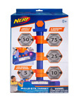 Nerf Bulls-Eye Digital Target with Lights  Sounds, LCD Screen, 6 Targets - New