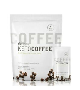It Works Keto Coffee BRAND NEW & Sealed bag 15x packets Carb Management MCT Oil