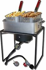 Kitchen Dining Features King Kooker 1618 16-Inch Propane Outdoor Cooker with Pan