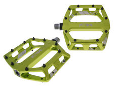 n8tive piatto Pedal set XC 99x100mm Verde BMX MTB MOUNTAIN BIKE DOWNHILL BICI