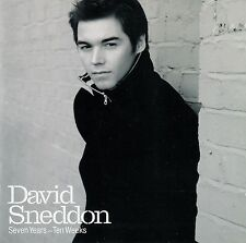 DAVID SNEDDON : SEVEN YEARS - TEN WEEKS (SPECIAL EDITION) / CD - TOP-ZUSTAND