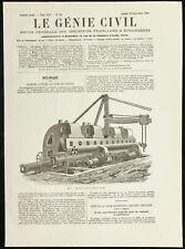 1891 - Máquina Para Dobladora Los Chapa Galvanizada Cascos - Genio Civil