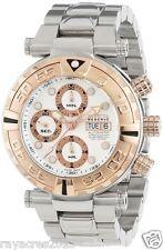 Invicta Men's 10483 Subaqua Reserve Automatic Chronograph Silver textured SS