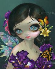 Iris Enchantment Jasmine Becket-Griffith CANVAS PRINT big eye fairy lowbrow art