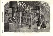 1862 raffinage du sucre appareil Paris caile Company Exposition