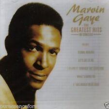 MARVIN GAYE - The Greatest Hits In Concert (UK 17 Tk CD Album) (Sld)