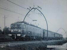PHOTO LOCOMOTIVE CC 7.107 RECORD MONDIAL DE VITESSE FORMAT 31 x 24 cm