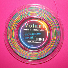 20LB Multi COLOR SUPERIOR QUALITY BRAID FISHING LINE 100% DYNEEMA 200M