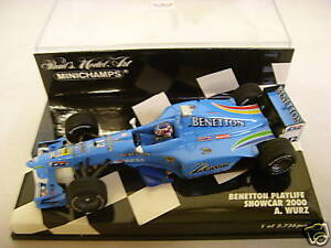 Minichamps: Benetton Playlife Showcar 2000 - A.Wurz