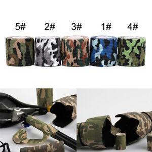 1pcs camo hunting camping hiking camouflage stealth tape wrap waterprofoC QeMOT