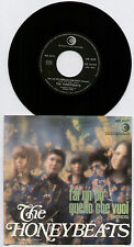 "[BEE GEES] HONEYBEATS~FAI UN PO QUELLO CHE VUOI (WORDS)~1968 ITALIAN 7"" + P/S"