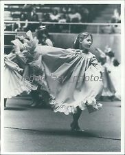 1977 Children in a Theater Dance Performance Original News Service Photo