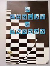 THE COMEDY OF ERRORS William Shakespeare RSC THEATRE PROGRAM Stratford-upon-Avon
