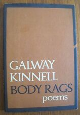 Galway Kinnell Body Rags HCDJ First 1st Edition 1968