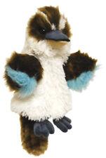 "BNWT - AUSTRALIAN BIRD ""KOOKABURRA"" WITH SOUND HAND PUPPET SOFT TOY 25CM"