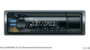 Sony DSXA60BT In Car Bluetooth Multimedia Receiver