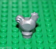 Lego Flat Silver Chicken  (95342) NEW!!!