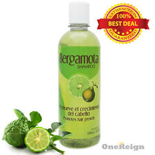 Shampoo de Bergamota 500ml - Bergamot Shampoo Treatment for Strong Hair Regrowth