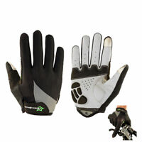 ROCKBROS Full Finger Spring Cycling Bike Gloves Touch Screen Sports Gloves Black