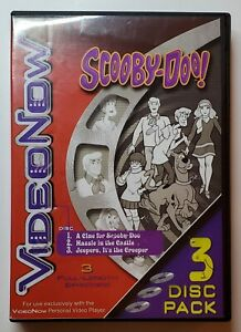 VideoNow Scooby-Doo! Volume 1 | 3-Disc Pack for VideoNow Personal Video Player