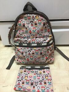 Lesportsac Backpack Cultural People