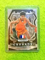 KILLIAN HAYES CRUSADE ROOKIE CARD JERSEY #3 FRANCE RC PISTONS  2020 Panini Prizm