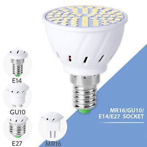 MR16 GU10 LED Bulb Lamp 220V DC 12V  LED Lamp E14 E27 Spotlight 2835 4W 6W 8W