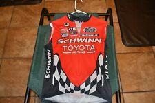 Vintage Toyota Schwinn Sleeveless Mountain Bike Jersey Size Medium