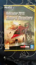 HELICOPTER 2015 NATURAL DISASTERS PC NUOVO COMPLETAMENTE IN ITALIANO