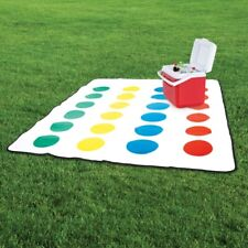 Twister Picnic Blanket Mat W Spinner Waterproof Back Official