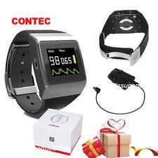 CMS50K SpO2/ECG Monitor Pedometer Heart Rate Wireless Bluetooth Smart Watch USA