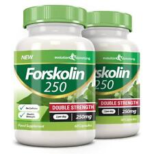 Forskolin 250 Double Strength 250mg 120 Weight Loss Capsules Evolution Slimming