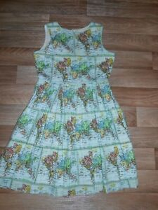 RACHEL RILEY MAP DRESS EXCELLENT CONDITION 12 YEAR OLD FULLY LINED STUNNING