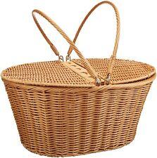 "Kovot Picnic Basket (Measures 16"" x 13.5"" x 7.5"") for Picnics, Parties and Bbq's"