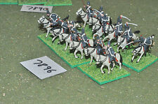 20mm napoleonic french hussars plastic 12 (7896) painted