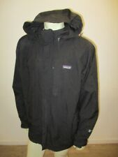 PATAGONIA Men's STORM LIGHT JACKET Hooded Parka Black Size XL