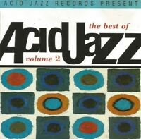 THE BEST OF ACID JAZZ VOL 2 various (CD, compilation, 1993) soul, latin, house