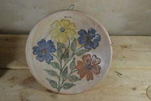 Vintage Dolores Porras Floral Atzompa Oaxaca Vintage Mexican Folk Art Pottery