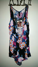 MINK PINK Floral Garden Jumpsuit Romper! Brand New with Tags
