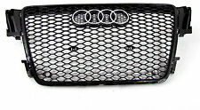 Audi A5 S5  RS5 Style front grille gloss black mesh ti  07 08 09 10 11 12
