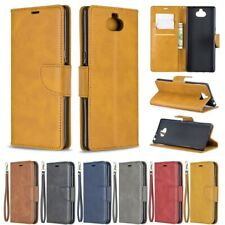 Magnetic Leather Card Wallet Stand Case Cover for Sony Xperia 10 Plus XA2 Ultra