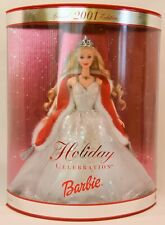 """Holiday Barbie 2001 • new • box is 13"""" x 10.5"""" x 3"""""""