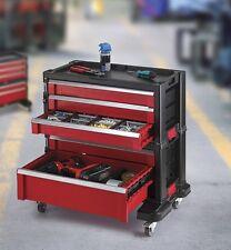 KETER Werkzeugwagen mit 5 Schubladen Werkzeugkiste Werkzeugkasten Werkstattwagen